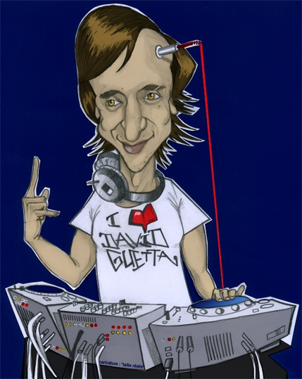 David Guetta by guillaume
